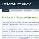 litterature-audio